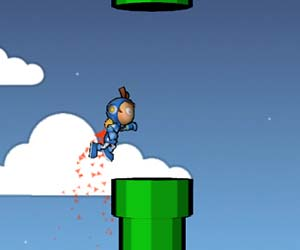 Play Flappy Astro