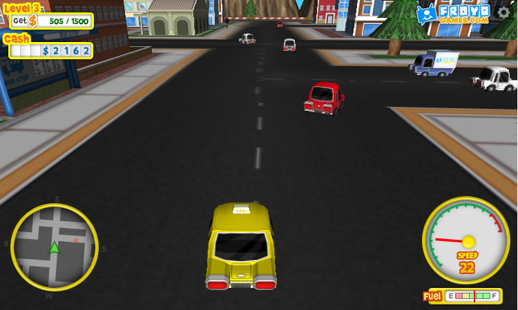 Play Froyo Taxi