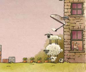 Play Home Sheep Home 2 Space