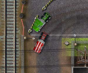 Play Industrial Truck Race